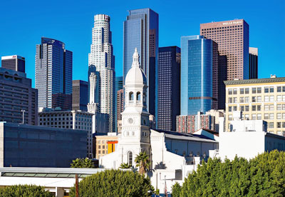 Image of city buildings